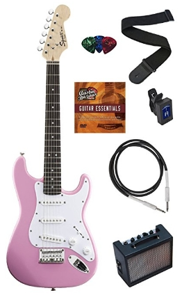 squier-fender-mini-electric-guitar-bundle-pink