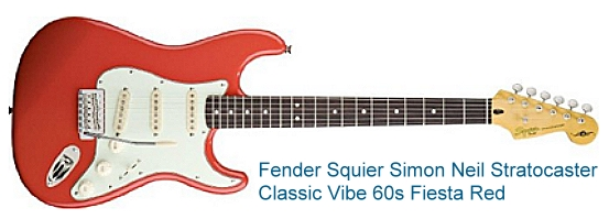 fender-squier-simon-neil-classic-vibe-60s-stratocaster-fiesta-red-electric-guitar