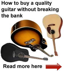 Buying a guitar is not an easy process.  Here's a simple guide with suggestions for buying a quality guitar based on several factors that may influence your buying decision