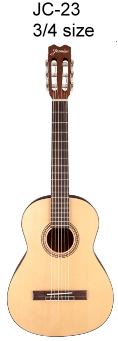 Jasmine-JC-23-three-quarter-size-classical-guitar