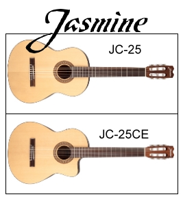 jasmine-jc25-jc25ce-classical-guitars