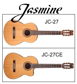 jasmine-jc-27-and-27ce-classical-guitars