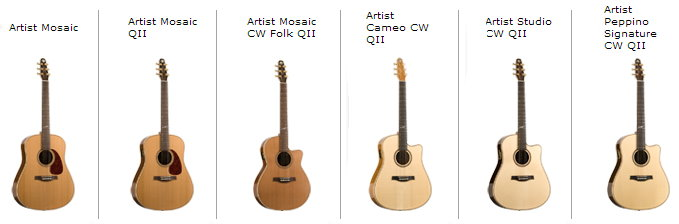 Differences Options The Artist Series Is By Far Best Of In Seagull Line From Using Special Selected Luthiers Guitar Makers And