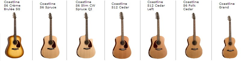 Seagull Guitars | Strumviews.com - complete acoustic, electric ...